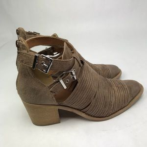 Qupid Strappy Western Booties Size 10